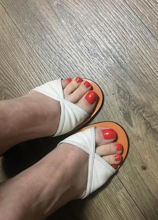 Босоножки/мюлы/сандали/шлёпанцы bally оригинал кожа