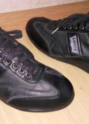 Туфли, кроссовки, мокасины кожа levis оригинал 42 размер