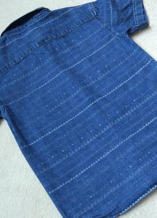 Джинсовая рубашка rebel на 7-8 лет рост 128 см2 фото