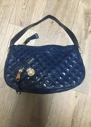 Лакированная сумка через плечо marc jacobs оригинал