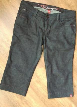 Новые джинсовые бриджи капри джинсы edc размер 32/ l-xl