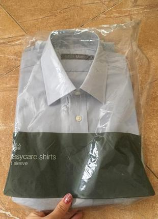 Рубашка m&s с коротким рукавом