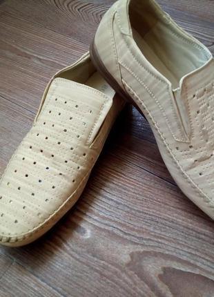 Туфли мужские летние.