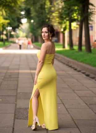 Супер стильне плаття на одне плече
