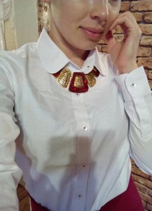 Женская классическая рубашка р.ххл