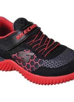 Кроссовки на мальчика skechers kids' ultrapulse sneaker, 35 размер