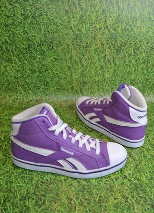Р.39-39,5-40 reebok англия оригинал! брендовые модные супер комфортные кеды кроссовки