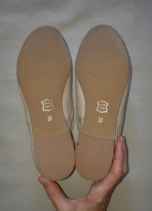 Легкие кожаные туфли броги лоферы оксфорды на шнуровке3 фото
