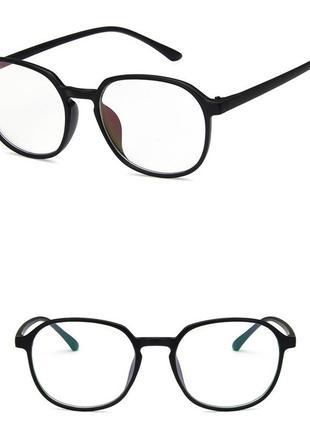 4-56 окуляри для іміджу з прозорою лінзою очки для имиджа с прозрачной линзой