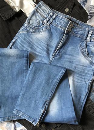Новые джинсы скинни с высокой талией посадкой