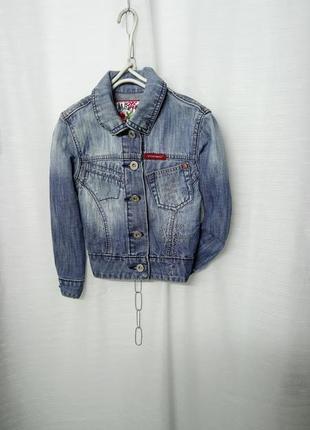 Стильный джинсовый катоновый жакетик 🌹италия