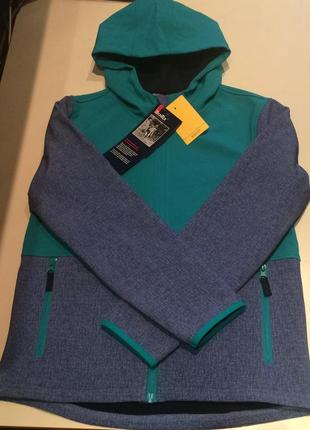 Новая куртка techtex softshell alive kids с бирками