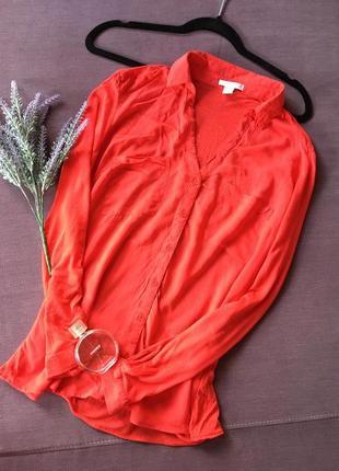 Красивая красная блуза amisu ( с нюансом )