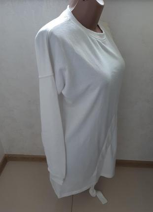 Удлиненный свободный свитер -туника3 фото