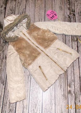 Демисезонная куртка tu для девочки 9-10 лет, 134-140 см