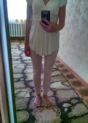 Белая туника/блуза