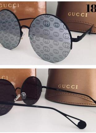 Новинка 2019 женские солнцезащитные очки круглые оверсайз серебристые1 фото