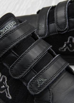 Кроссовки kappa чёрные на липучках размер 38 оригинал
