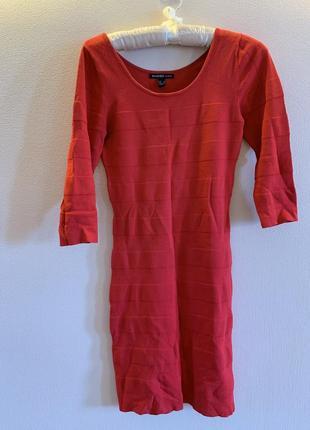 Платье резинка zara