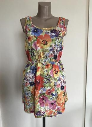 Скидки!цветочное платье