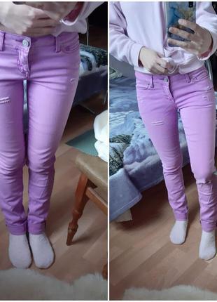Aeropostale розовый джинс