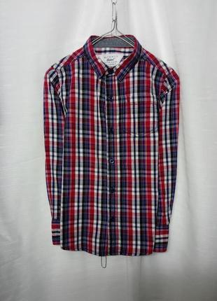 Красивая брендовая катоновая рубашка 💎
