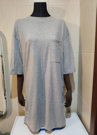 Базовые платье футболка