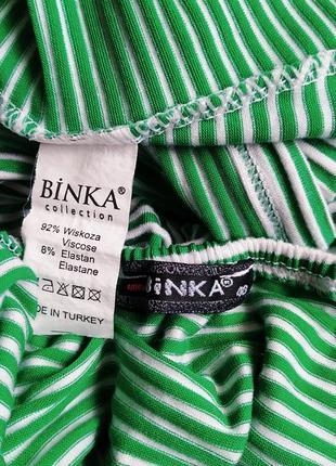 Удлиненный топ в полоску binka7 фото
