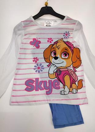 Пижама на девочку дисней скай щенячий патруль