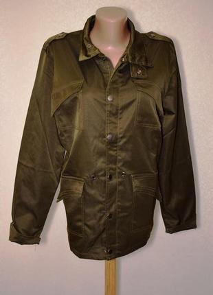 Курточка ветровка цвет хаки, размер xl-xxl