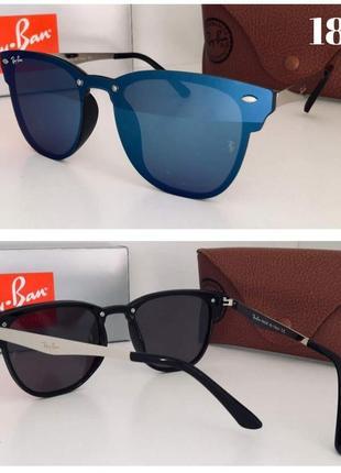Стильные солнцезащитные очки зеркальные новинка