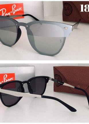 Стильные солнцезащитные очки зеркальные