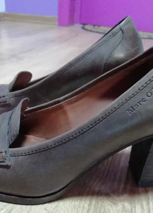 Дуже комфортні туфлі marc o'polo 38 розміру