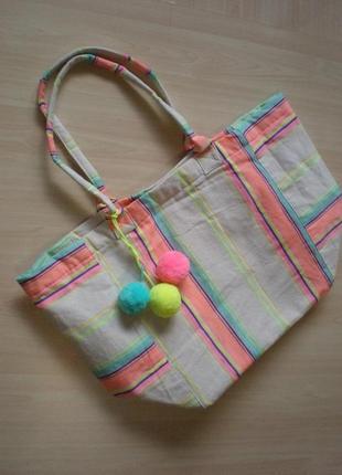 Продам фирменную пляжную сумку  (mantaray)
