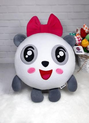 Мягкая игрушка - подушка малышарики пандочка