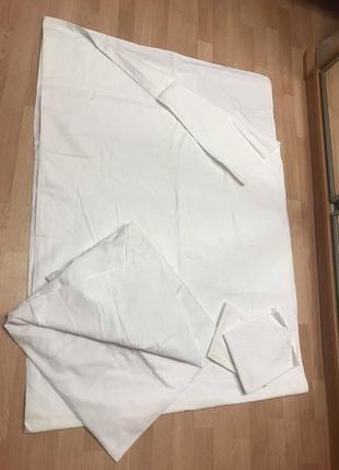 Комплект постельный пододеяльник  простынь наволочки hema коттон