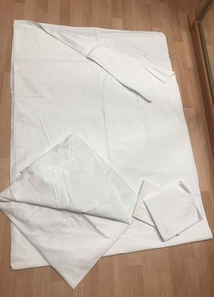 Комплект постельный пододеяльник  простынь наволочки hema коттон8 фото