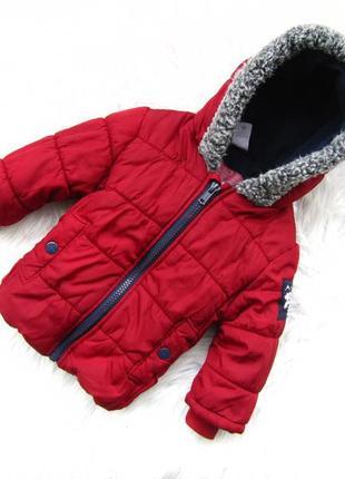 Стильная  демисезонная куртка с капюшоном c&a