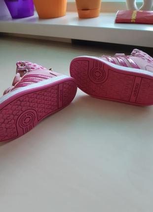 Фирменные кроссовки-сникерсы adidas р-р 25 оригинал5 фото