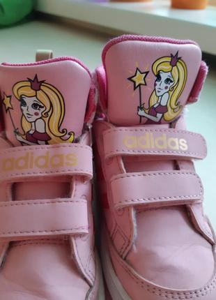 Фирменные кроссовки-сникерсы adidas р-р 25 оригинал6 фото