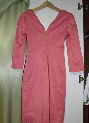 12 розовое платье с замками