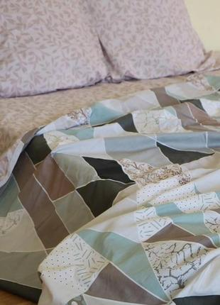 Хит!  постельное белье из сатина!  геометрия
