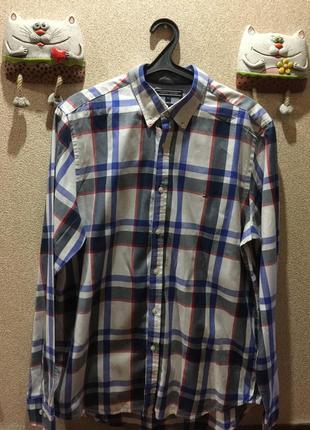 Стильная  мужская рубашка в клетку #12