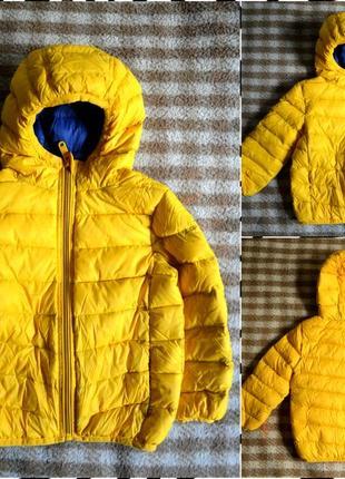 Palomino ® детский пуховик размер 98  - есть мешочек-сумочка - очень теплый