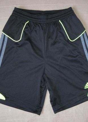 Adidas (152) спортивные футбольные шорты детские