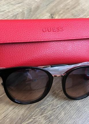 Новые очки guess оригинал! женские ультрамодные солнцезащитные