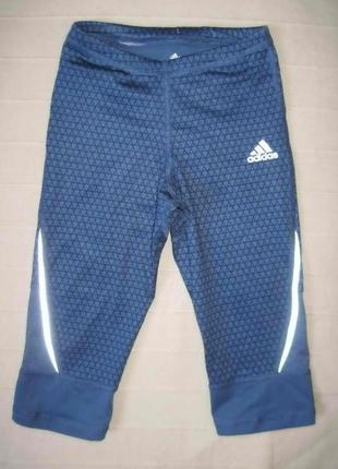 Adidas climacool (128) спортивные бриджи детские