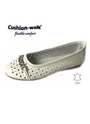 3573 балетки cushion-walk 8/40-41 нові шкіра