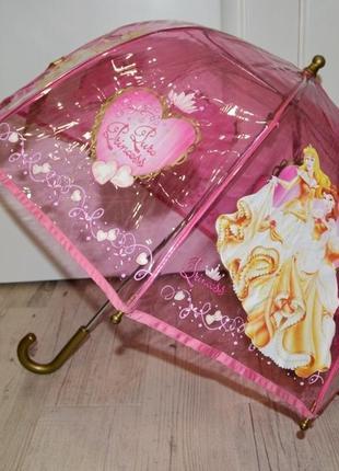 Зонтик зонт детский с яркими героями принцессы дисней disney оригинал