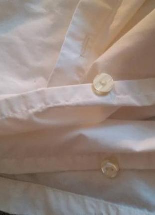 Комплект постельный белый пододеяльник  простынь евроразмер3 фото